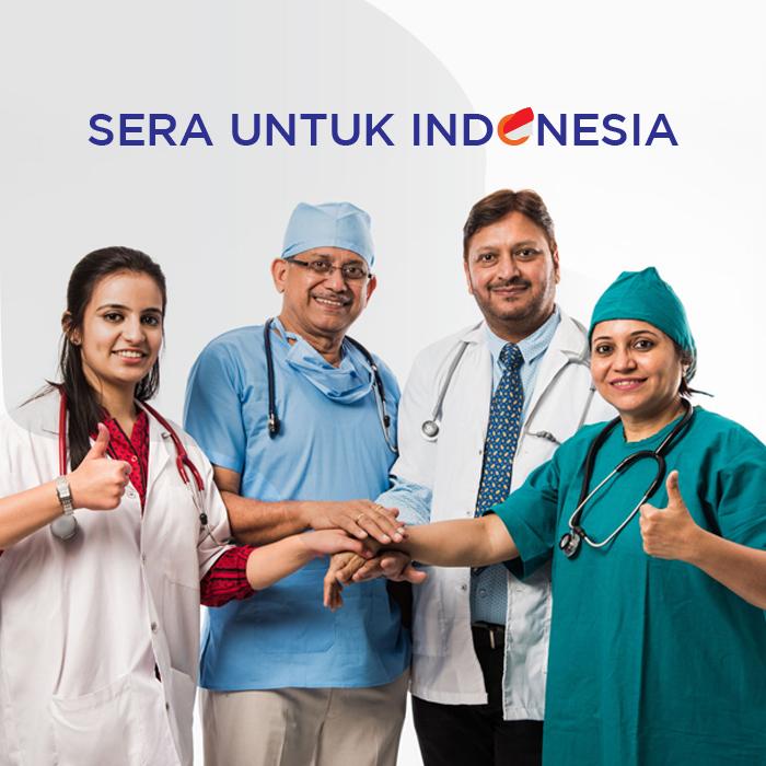 """Gerakan """"SERA Untuk Indonesia"""" Dalam Melawan Penyebaran Covid-19"""