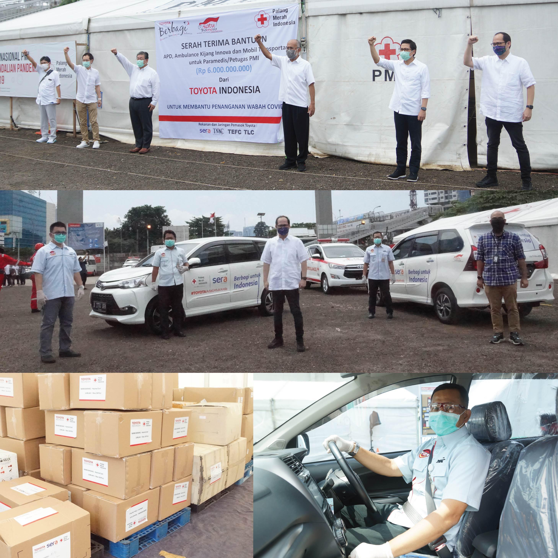 Kolaborasi SERA dan Toyota dalam Mendukung Mobilitas Penanggulangan Wabah di Wilayah Indonesia yang Terdampak COVID-19